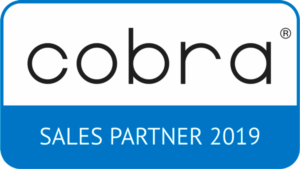 Logo cobra Sales Partner 2019